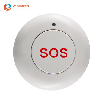 Home Security Alarm System Smart Wireless SOS Notfall Panic Button für Solar Powered Freien Sirene