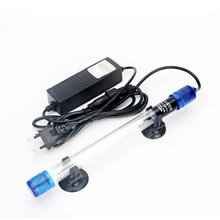 Aquarium Fish Tank Bactericidal Lamp Ultraviolet Sterilizer Light Submersible Diving Radiation-resistant Fish Reef Coral Tank saltwater resistant 5w led aquarium fish tank clamp clip lamp lighting with full spectrum for coral reef spot light e27 lamp