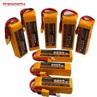 Rc Speelgoed Lipo Batterij 18.5V 4200Mah 4500Mah 5000Mah 6000Mah 25C 35C 5S Voor Rc vliegtuig Drones Quadrotor Batterijen 5S Lipo Drone