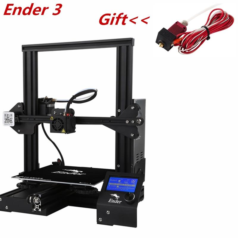 CREALITY Ender-3 imprimante 3D reprise panne de courant impression bricolage appareils moyenne bien alimentation assemblée pas de bruit lisse