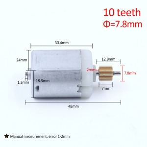 12 kinds of automotive 9T 10T 16T teeth GearWheel Car Rear View Mirror Motor, Car Door Lock Motor