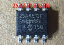 20 sztuk 25AA512 I/SN 25AA512 I 100% nowy oryginalny