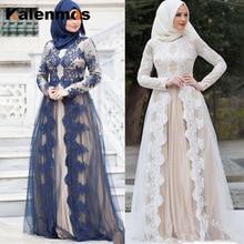 Vestido Abaya musulmán ropa islámica para mujeres encaje Vintage caftán largo Dubai árabe Eau africano fiesta boda Dubai Maxi de talla grande 5XL