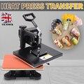 Neue Mini Wärme Presse Transfer Hohe Qualität Wärme Übertragung Maschine Sublimation Drucker Für Becher Kappe T shirt Drucker 23x30cm-in Drucker aus Computer und Büro bei