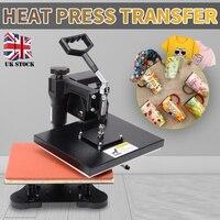 New Mini Heat Press Transfer High Quality Heat Transfer Machine Sublimation Printer For Mug Cap T shirt Printers 23x30cm