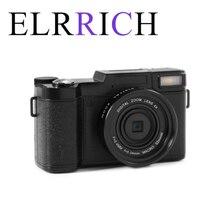 ELRRICH  24MP HD Half-DSLR Professional Digital Cameras With 4X Telephoto Fisheye & Wide Angle Lens Camera Macro HD Camera