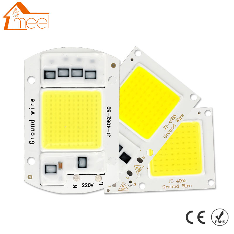 10W <font><b>20W</b></font> 30W 50W COB <font><b>LED</b></font> <font><b>Lamp</b></font> Chip 220V 240V <font><b>LED</b></font> COB Bulb <font><b>Lamp</b></font> IP65 Smart IC Driver Cold/ Warm White <font><b>LED</b></font> Spotlight Floodlight image