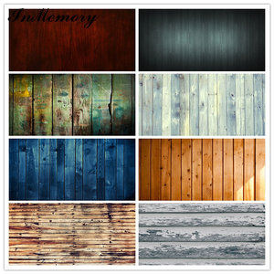 Image 2 - InMemory Wooden Board Photocall Plank Texture Food Portrait Grunge Customized Photography Backdrops For Photo Studio
