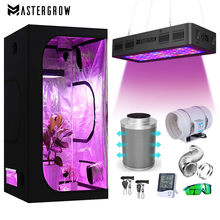 Grow Tent Complete Kit 2000W LED Grow Light + 4