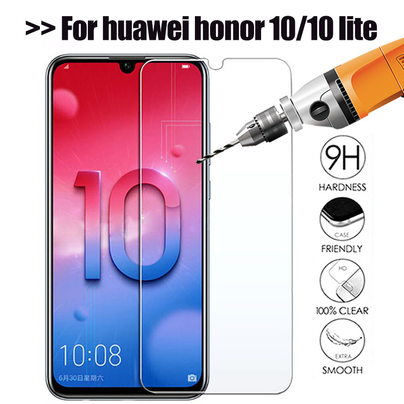 Tempered Glass On Honor 10 Lite Light Protective Glass Screen Protector For Huawei Honor 9 Lite Honer 10lite Phone Safety Film