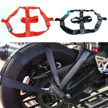 Универсальный ремень для крепления для электрического транспортного средства, складной Крепежный ремень для крепления заднего колеса, для...