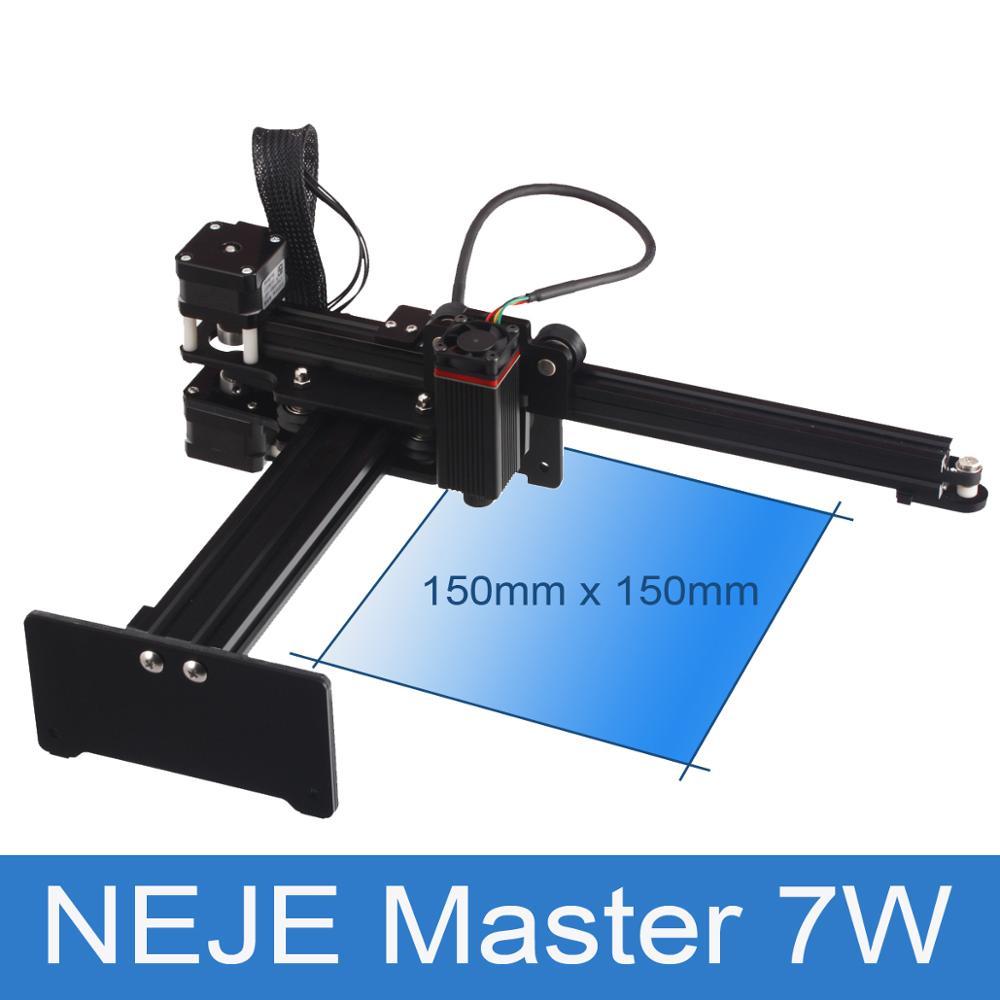 NEJE Master 7W DIY CNC Laser Engraver Mini Laser Engraving Cutting Machine for Windows, Mac Support Metal Engraving Carving