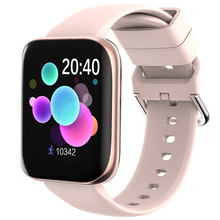 Women Smartwatch Bluetooth Call Full-Touch-Screen-Support Android Blood-Pressure Music