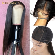 Karizma 4x4 Lace Closure Human Hair Wigs Remy Brazilian Straight With Baby