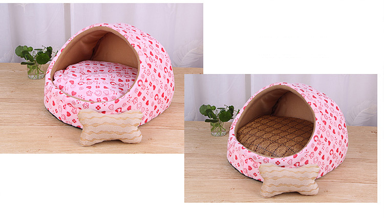 Pet Bed House-Eco-Dogs and Cats indoor Bed-Colour Chart