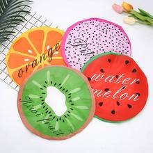 Cute Fruit Shower Bath Cap for The Sauna Gorras Para Mujer Hair Caps Lace Bands Elastigas Kids Satin Bonnet E