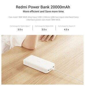 Image 3 - Nouveau Xiaomi Redmi batterie externe 20000mAh Chargeur Portable Alimentation Double USB USB C bidirectionnelle Charge Rapide Batterie Externe
