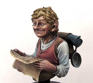 Image 2 - (Cerca de 55mm) busto resina figura modelo kit sem pintura bust478