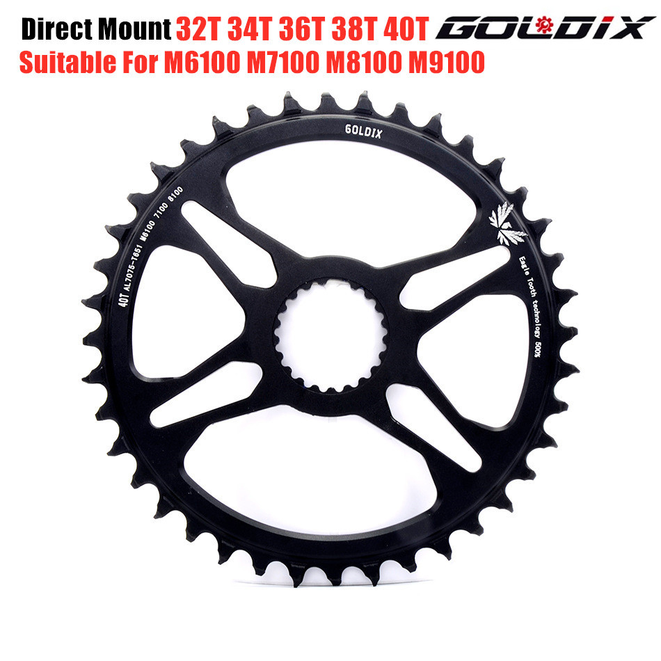 Direct Mount Bike chainring MTB 32T 34T 36T 38T 40T Narrow Wide Bicycle Chainwheel for M6100 M7100 M8100 M9100 12 speed Crankset