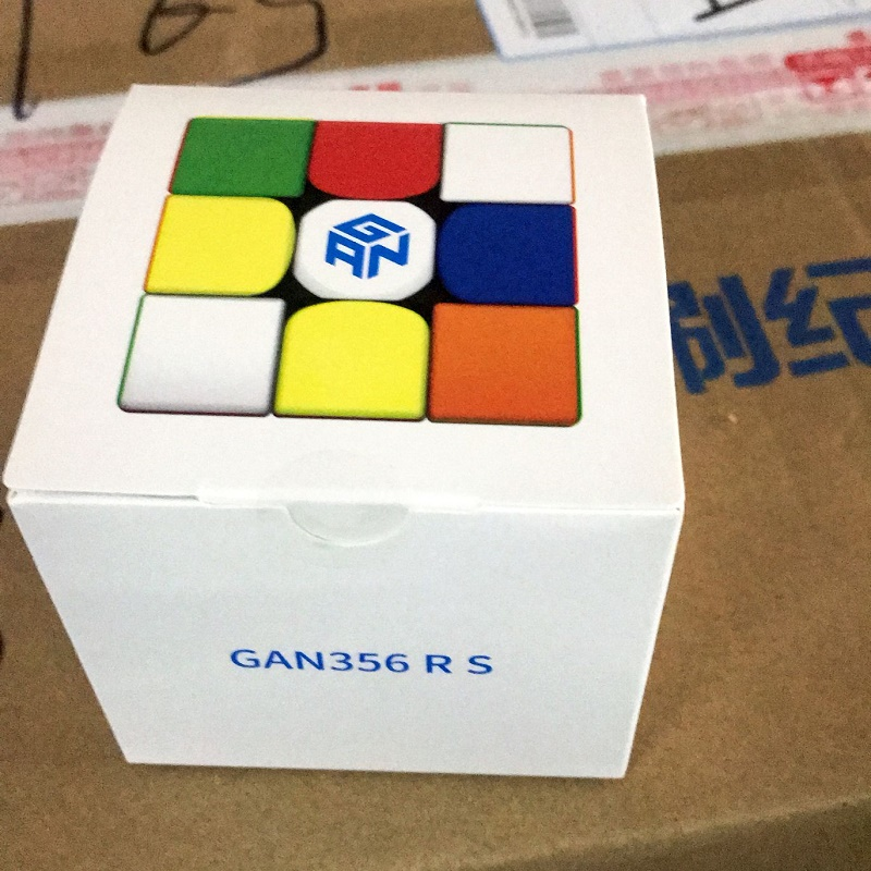 Original Cubo Magico GAN 356 RS 3x3x3 Magic Speed Cube 3x3 GAN 356rs Puzzle Competition WCA Educational  Toys