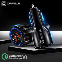Cafele Quick Charge 3.0 USB Car Charger For iphone xr x QC3.0 5A Fast PD Car Charging Phone Charger for Xiaomi Huawei Samsung