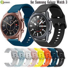 Силиконовый ремешок для часов samsung galaxy watch 3 45 мм 41