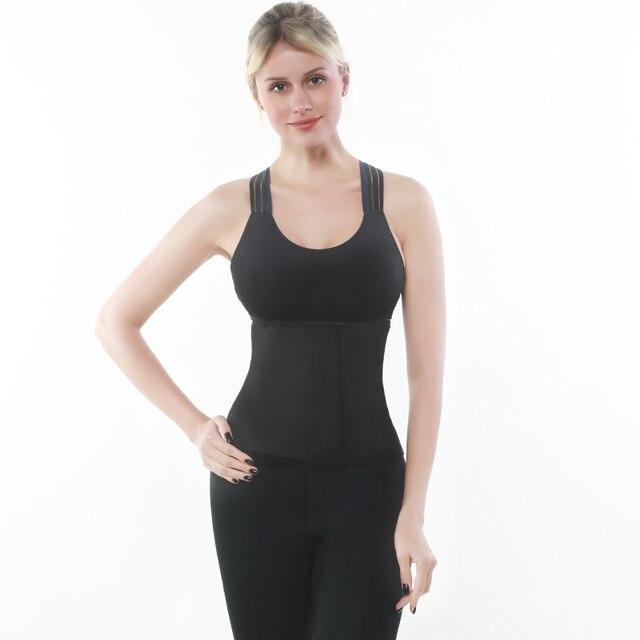 Waist Trainer Thermo Sweat Belt Waist Trimmer Girdle Corset Women Tummy Body Shaper Shapewear Fat Burning Fitness Modeling Strap 2