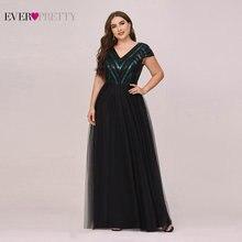 Платья размера плюс для женщин ever pretty Элегантное Длинное