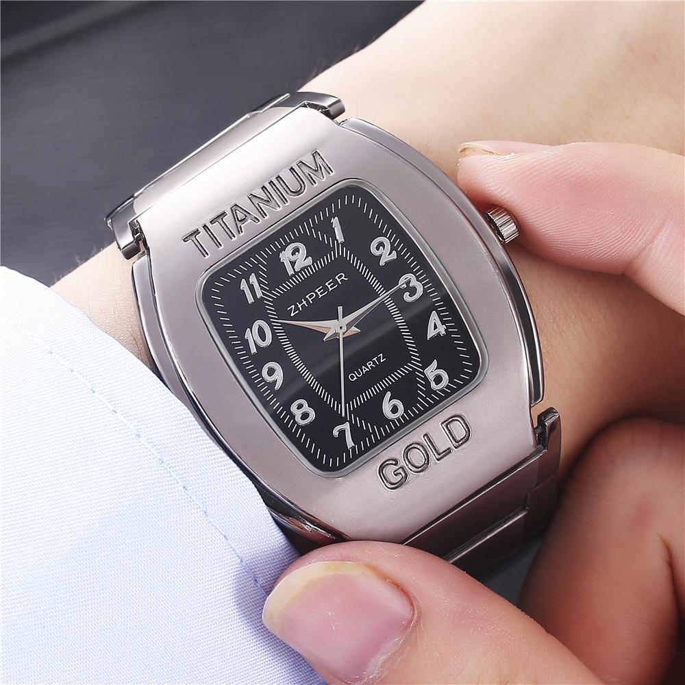 New Style Fashion Men's Watches Barrel Steel Business Casual Quartz Sports Wristwatch Relojes De Hombre Male Dress Clock Gifts