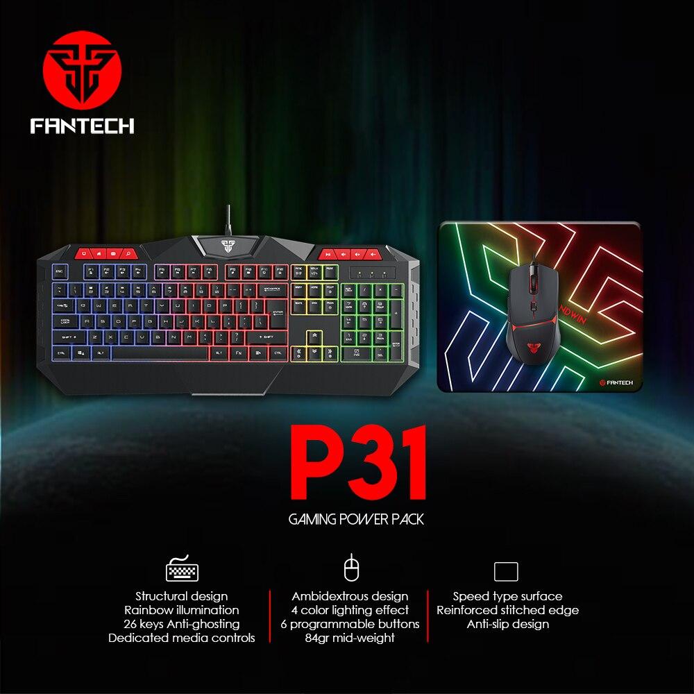 Fantech P31 Keyboard, Mouse and Mousepad 4