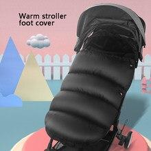 Sac de couchage chaud d'hiver pour nouveau-né, avec repose-pieds, coupe-vent, épais, pour fauteuil roulant, pour bébé de 0 à 36 mois