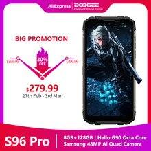 Doogee S96 Pro прочный мобильный телефон 20MP Ночное видение Камера 8G Оперативная память + 128G Встроенная память MT6785 6350 мАч NFC поддерживает 6,2 ''чехол д...