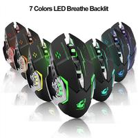 2.4GHz Light Mute Wireless Mouse Gaming Mouse Mechanical Mouse Wireless Bluetooth Mouse Wireless Mouse Ergonomic Rechargeable