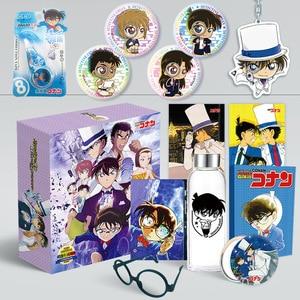 Image 4 - 1Pc 애니메이션 형사 코난 Cardcaptor 사쿠라 만화 럭셔리 선물 상자 워터 컵 엽서 스티커 및 포스터 애니메이션 주변