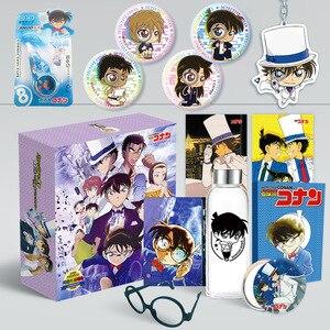 Image 4 - 1pcアニメ探偵コナンカードキャプターさくらコミック高級ギフトボックス水カップはがきステッカーやポスターアニメ周り