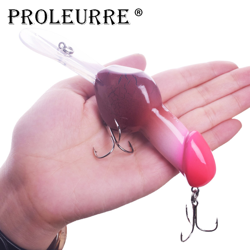 Proleurre Valentine's Gift Deep Diving Trolling Fishing Lure 14cm 27g Big Minnow Dick Rattle Artificial Crank Hard Bait Tackle