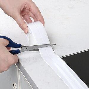 Image 2 - Nhà Bếp Nhà Tắm Chống Thấm Nước Và Mùi Nấm Mốc Băng Nhà Chống Ẩm Đường May Đẹp Góc Decal Dán Bếp Phụ Kiện Phòng Tắm