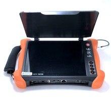 X9 CCTV Tester Werkzeuge Professionelle 8 zoll H.265 4K Display 8MP TVI CVI AHD SDI CVBS IP Kamera Tester monitor, kabel tracer