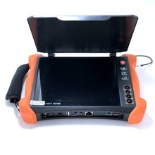 X9 CCTV test cihazı araçları profesyonel 8 inç H.265 4K ekran 8MP TVI CVI AHD SDI CVBS IP kamera test cihazı monitör, kablo izleyici