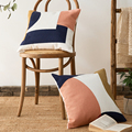 Украшение для дома наволочка 45x45 см Abrstract Геометрическая квадратная наволочка цвета Розовый Бежевый мягкая удобная для гостиной