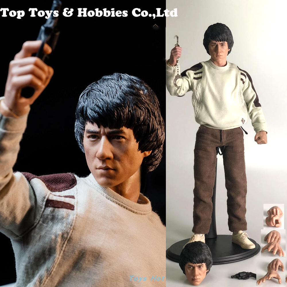 Full set STT-001 In Stock 1/6 Scale Jackie Chan's Police Force Action Figure Doll Model Toys for Fans collection Gifts