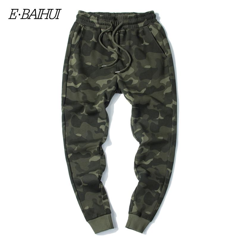 E BAIHUI мужские осенние штаны шаровары, мужские камуфляжные военные брюки, свободные удобные брюки карго, камуфляжные брюки для бега MJ002| |   | АлиЭкспресс