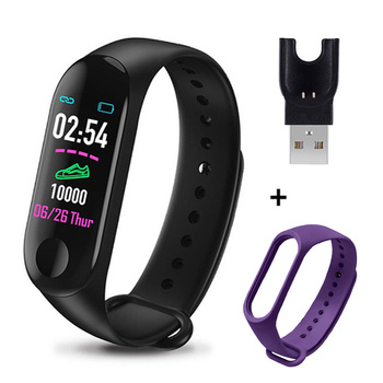 M3 Plus Smart Bracelet Heart Rate Blood Pressure Health Waterproof Smart Watch M3 Pro Bluetooth Watch Wristband Fitness Tracker 19