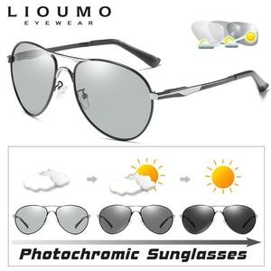 Image 3 - Aviazione Occhiali da Sole Delle Donne Degli Uomini Occhiali da Sole Polarizzati Fotocromatiche Occhiali da Sole Scolorimento Occhiali per Giorno Notte di Guida Chameleon Occhiali