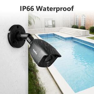 Image 3 - Sannce dvr 1080n cctv câmera, gravador de vídeo, 4/8 peças 2mp, kit de vigilância residencial e visão noturna, à prova d água