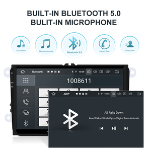 Image 3 - Isudar 1 דין אוטומטי רדיו אנדרואיד 10 עבור פולקסווגן/גולף/פולו/פאסאט/סקודה/פאביה/אוקטביה/מושב/ליאון רכב מולטימדיה נגן וידאו GPS USB DVR