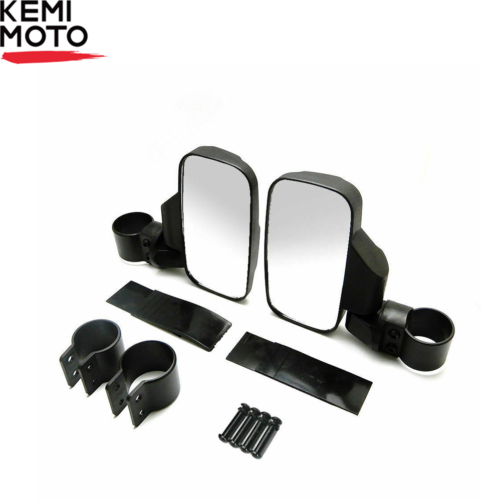 UTV Rearview Mirror Shockproof Side Mirror Accessories W/ 1.75