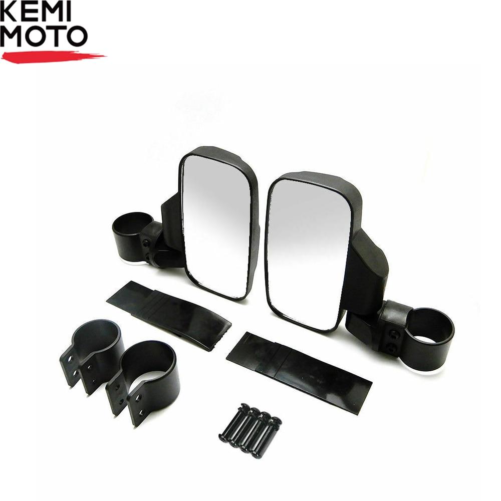 UTV Rearview Mirror Shockproof Side Mirror Accessories W/ 1.75