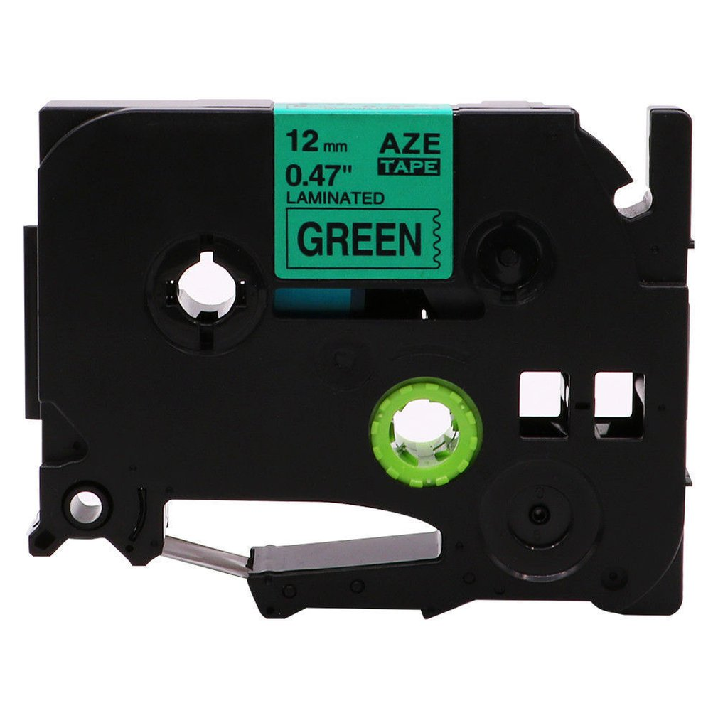12 Mm Label Tape Compatible For Brother Label Tape Chemical Resistant Waterproof Easy To Peel