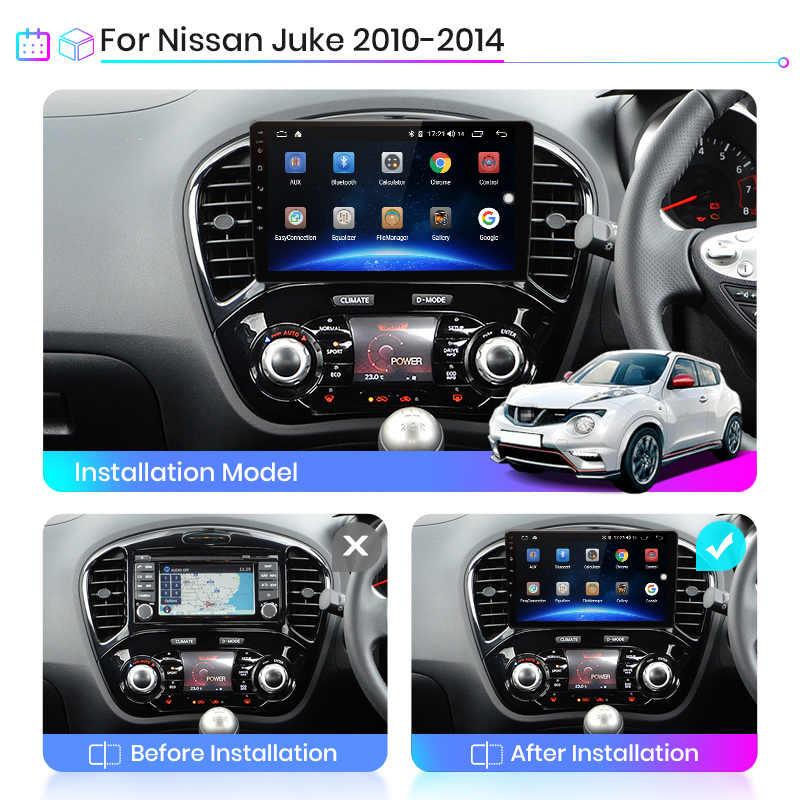 Junsun V1 Android 10 2G + 32G DSP автомобильный Радио мультимедийный видео плеер для Nissan Juke YF15 2010-2014 навигация GPS 2 din Авторадио